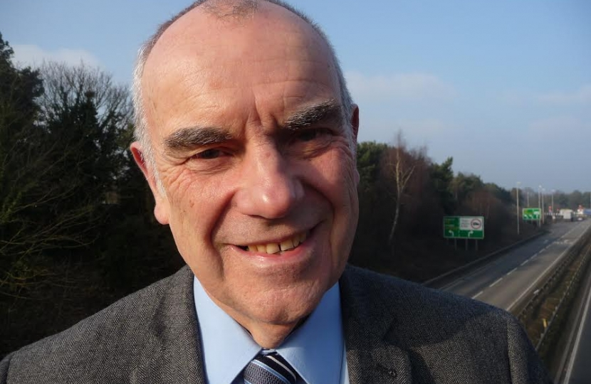 Graham Newman, Chairman of Suffolk Coastal Conservatives