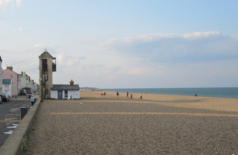 Aldeburgh, one of the jewels in the Suffolk Coastal Constituency