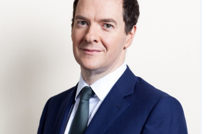 Chancellor of the Exchequer: George Osborne. Offical via Wikipedia