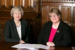 The Prime Minister with Therese Coffey